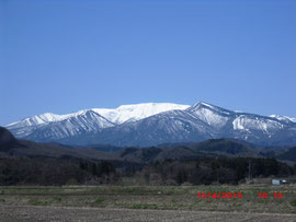 屏風岳、蔵王連峰(宮城県) Mt. Byobu, Zao Peaks, Miyagi Pref.