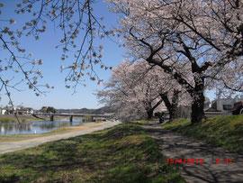 白石川(宮城県) Shiroishi River, Miyagi Pref.
