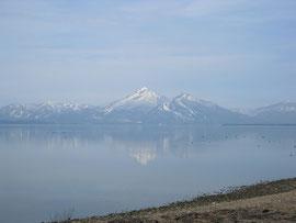 猪苗代湖(福島県) Lake Inawashiro, Fukushima Pref.