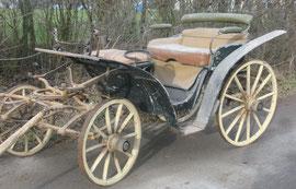 Historische Ponykutsche, Baujahr ca. 1920 - 1940
