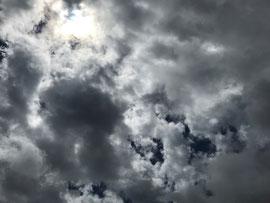 雲がたくさん