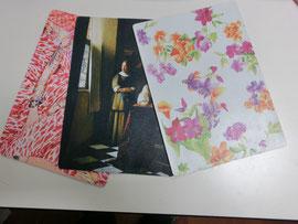 クロム鞣し白に数種類画像 挿入