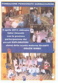 Esploratori della scuola materna Airoldi, 9 aprile 2013