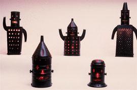Acme Robots at the Phyllis Kind Gallery NY, NY.  1986