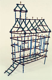 "Firehouse, 1984, 30 x 10 x 18"""