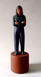 "Standing Woman, 1998, 15 x 5 x5"""
