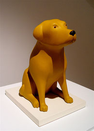 "Dog, 2004, 16 x 6 x 9"""