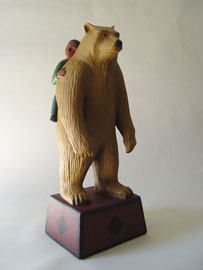 """Bear Boy, 2000, 22 x 9 x7"""""""