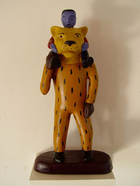 """Tiger Man Boy, 1997, 14 x 6 x 5"""""""