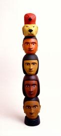 """Totem, 2000, 29 x 6 x 5"""""""