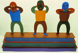 Shoulder to Shoulder 1966, 11 x 16 x 4""