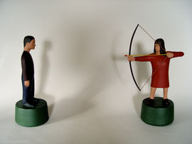 "Arrows, 1998, 18 x 24 x 6"""