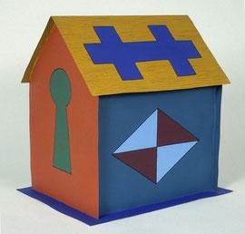 """House Key 1988, 15 x 12 x 15"""""""