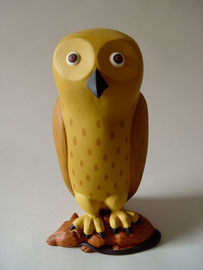 "Owl Rat, 2000, 13 x 8 x 7"""