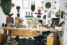 Studio view 1987, NY, NY