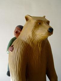 Bear Boy detail