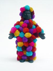 """Pom Pom Boy, 2006, 6 x 4 x 2"""""""