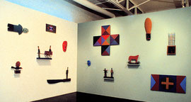 Barry Whistler Gallery, Dallas, TX, 1988-89