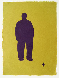 Big Man Little Man 2006, 16 x 11.5""