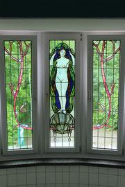Dr. Curt-Geitner-Bad: Wunderschöne Jugendstilfenster