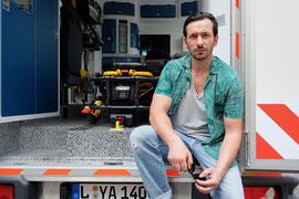 Ariel Taci, Schauspieler, Foto: Sebastian Kiss