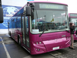 Городской автобус большой вместимости Ikarbus 112N.