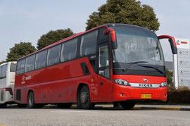 """Междугородный автобус Higer KLQ 6125Q c традиционной для китайских """"туристов"""" схемой дверей: 1-0-0"""