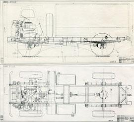Общий вид шасси ГАЗ-66