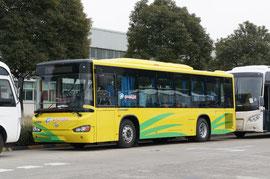 """Городской автобус Higer KLQ 6109GHEV1. Машина с привычной для """"китайцев"""" схемой дверей 1-2-0"""