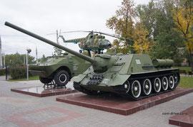 Похоже, что самоходная установка СУ-100 пользуется повышенным интересом в Воронеже