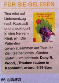 """Buch-Tipp in der """"Laura"""" (22.10.2014)"""
