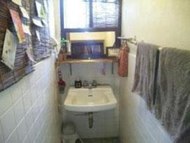 洗面所  ドライヤーの使用は24:00までです。