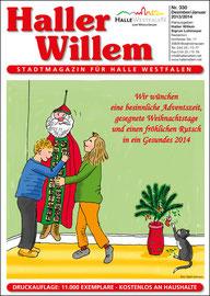 Haller Willem 330 Dezember 2013 / Januar 2014