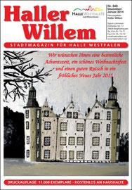 Haller Willem 340 Dezember 2014 / Januar 2015