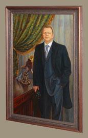 портрет Павла Дмитриевича  (живопись, холст, масло.)