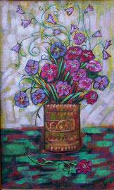 Живопись 8  Полевые цветы