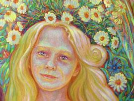 портрет ..Мир детства..(фрагмент)