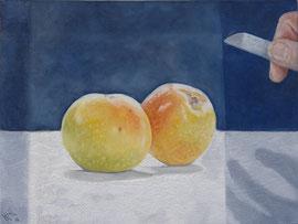 Wait !! - oil on canvas - 30 x 40 cm