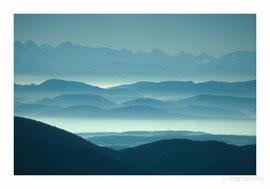 Blick vom Belchen (Schwarzwald)