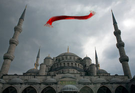 Istanbul ,Sainte Sophie, digital color.