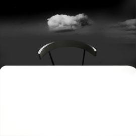 noir et blanc ,digital the table ,Minimaliste