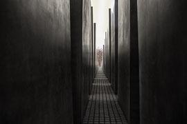 noir et blanc digital ,Berlin Shoah