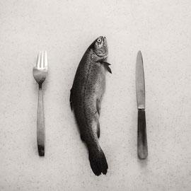 Fish creatif noir et blanc
