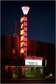 Cinema a Flagstaff ,Californie route 66,Arizona