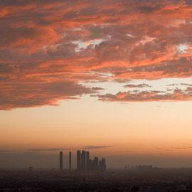 LA depuis l'observatoire  Digital Color