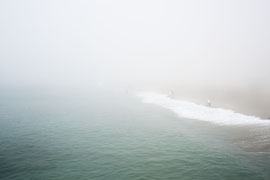 A day with fog / Digital color /Santa Monica