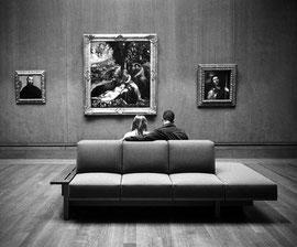Noir et blanc argentique Leica M6 Californie musée Ghetty