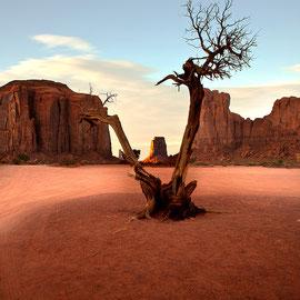 Landscape Photographie digital color Monumenth valley Californie