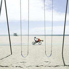 Beach Santa Monica color digital