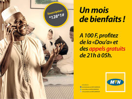 Campagne: Promo ramadan 2014, Directeur artistique: Bibi benzo, Photographe: Zacharie Ngnogue, Agence: MW DDB, Client: MTN CAMEROON